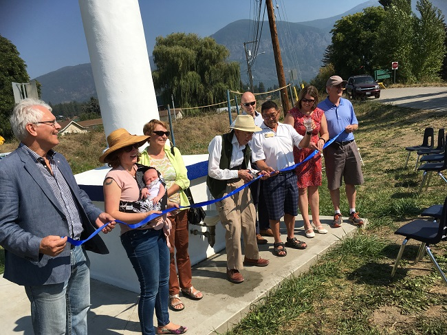 ribbon cutting water system