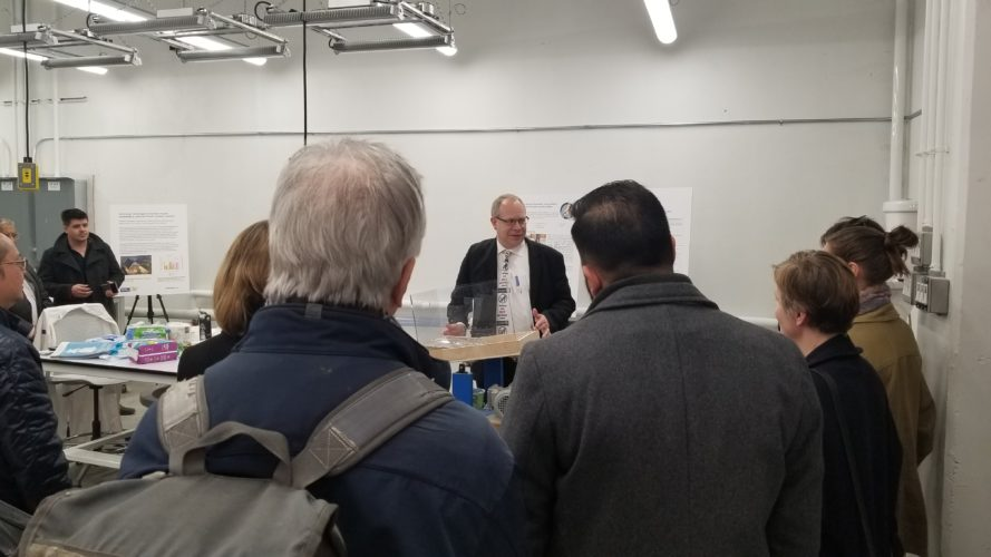 Pictured: Barry Orr, lead author of the report on Defining 'Flushability' for Sewer Use. He presented the results of the report at an event hosted by Ryerson University on April 4, 2019.