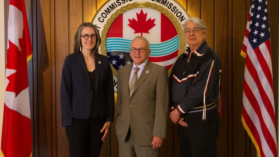 The three new Canadian IJC Commissioners are pictures