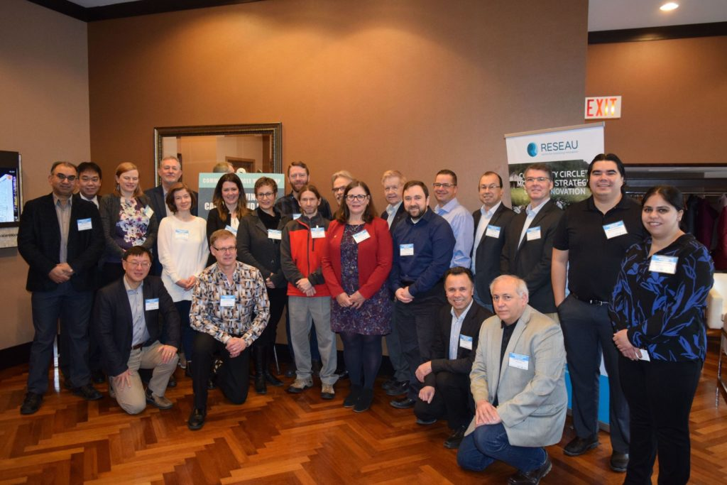About 30 attendees participated in a workshop that considered the factors that need to be taken into account when designing local water treatment solutions for Indigenous and non-urban communities.